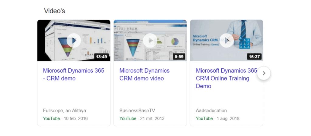 demo microsoft dynamics 365 crm
